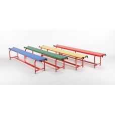 Steel Upholstered Balance Bench 2000mm Set of 4